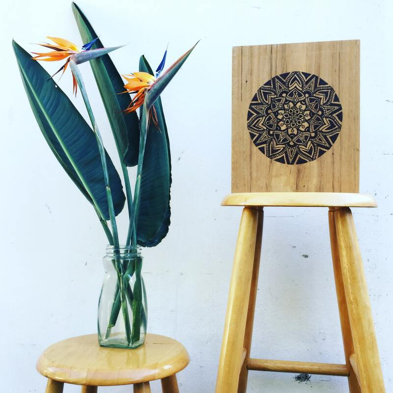 Sustainable homewares - commissioned artworks