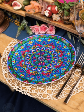 Stunning eco plates that are part of our unique homewares collection