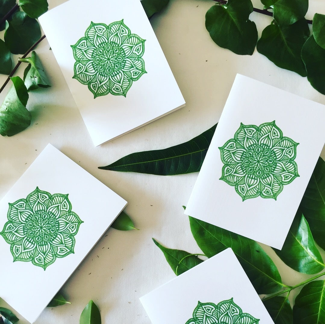 Sustainable and ethical handcrafted eco cards