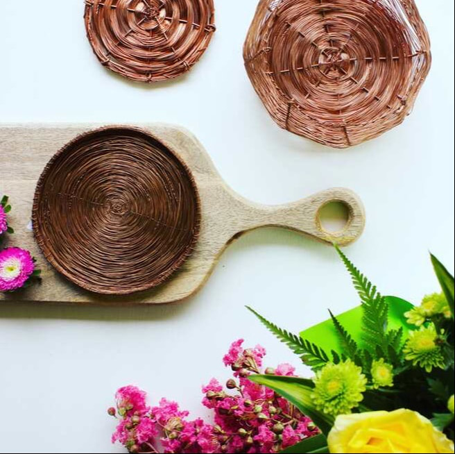 Australian homewares - handcrafted copper homewares