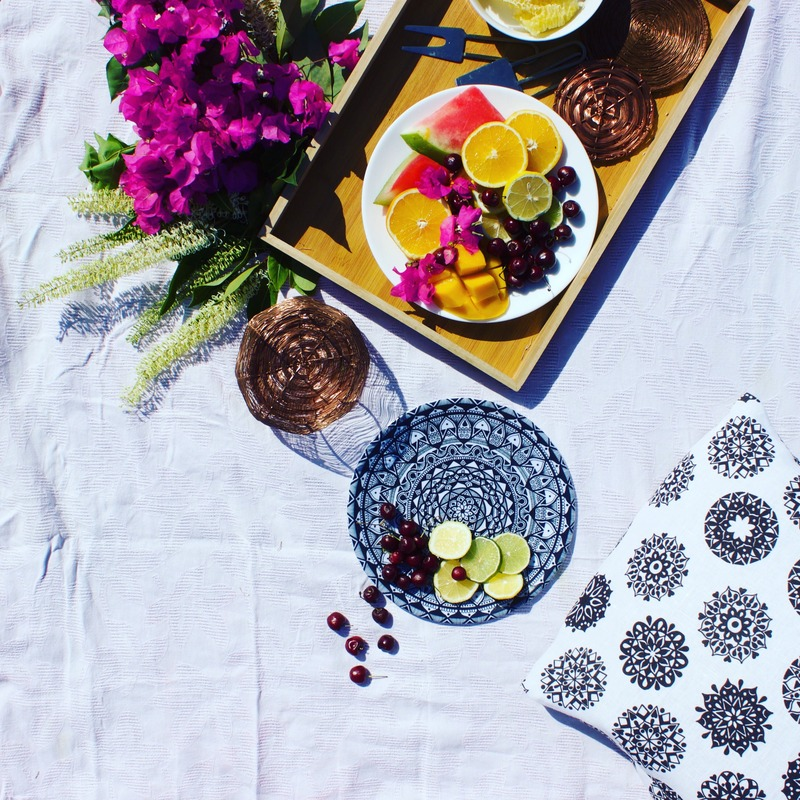 Picnic styling with sustainable and ethical homewares