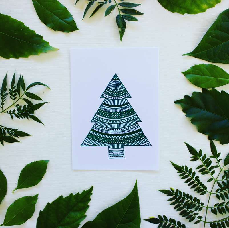 Sustainable Christmas gifts - ethical Christmas cards